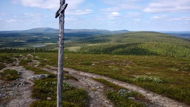 Hetta-Pallaksen upeita maisemia. Kuva: KivaaTekemistä.fi