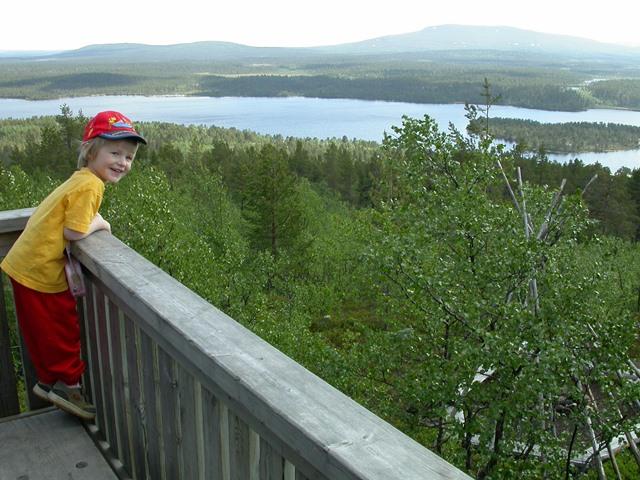 Maisema Jyppyrän näköalapaikalta. Kuvaaja: Pirkka Aalto
