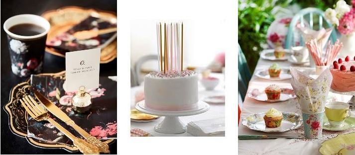 Kauniit ja laadukkaat enlantilaiset paperilautaset ja servietit pikkujuhliin, illanistujaisiin, lastenkesteihin - helpottamaan arkea. Valikoima vaihtuu kausittain. Kuvien lähde: Kellopeli Lifestyle Clinic