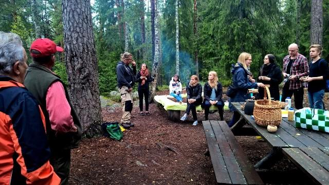 Presidentin tulipaikka. Kuva: Hannu Ylönen