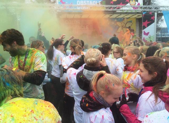 Color Obstacle Rush Helsinki. Kuva: KivaaTekemistä.fi