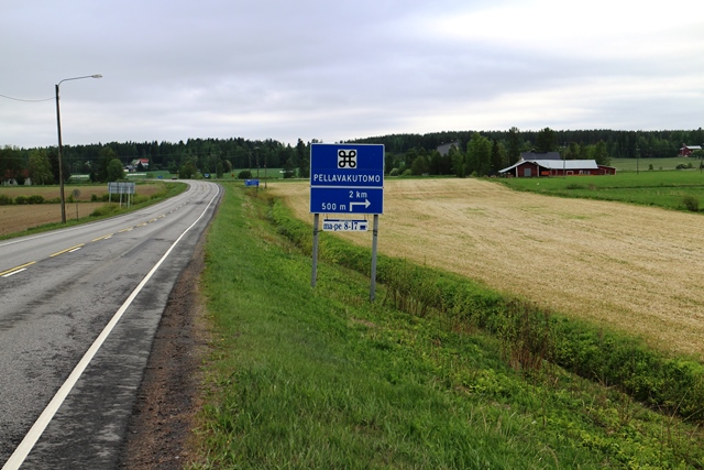 Jokipiin näkymiä Kauhajoentieltä nro 672 katsottuna. Kuva: KivaaTekemistä.fi