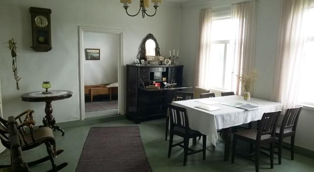 Lamminahon talon tupa oli vieraita varten. Kuva: KivaaTekemistä.fi