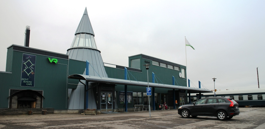 Kolarin juna-asema. Kuva: KivaaTekemistä.fi