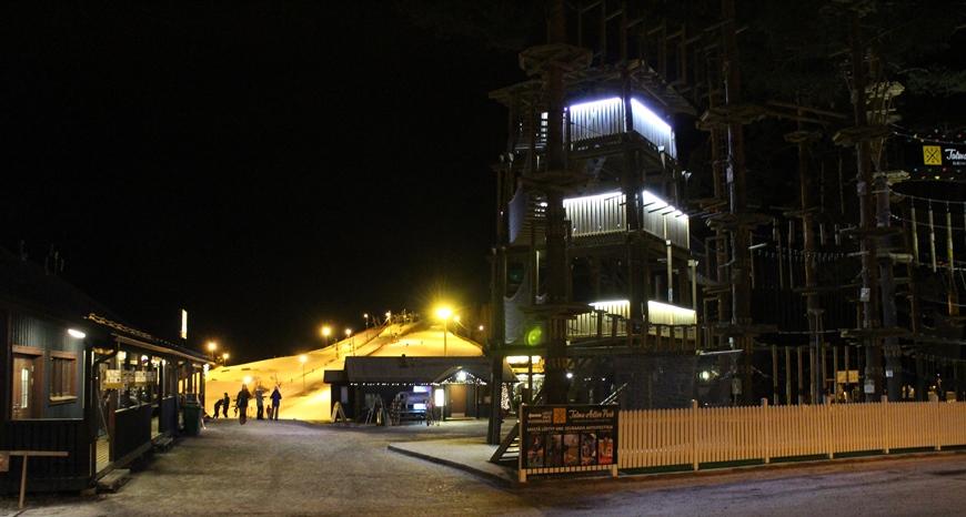 Talma Ski ilta-aikaan. Kuva: KivaaTekemistä.fi