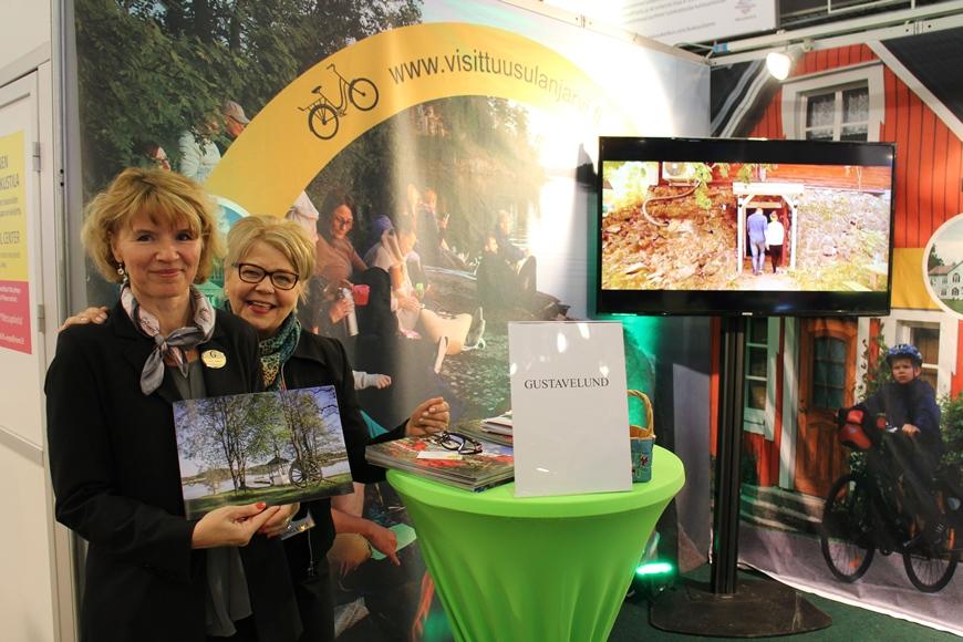 Gustavelundin Elina Nurmela ja Terttu Repo. Kuva: KivaaTekemistä.fi / LikeFinland.com