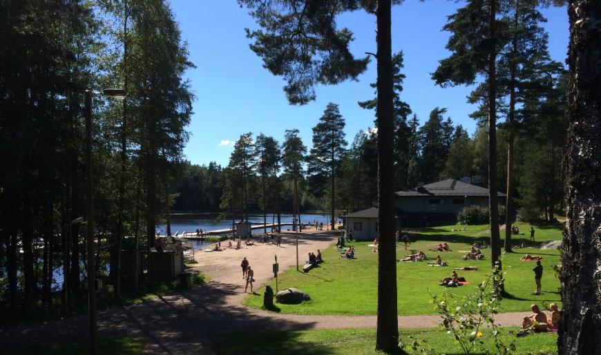 Kuusijärvi, Vantaa. Kuva: KivaaTekemistä.fi