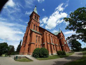 Sipoon uusi kirkko vuodelta 1885.