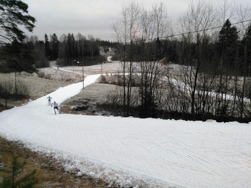 Vantaan Hakunilassa pisin lenkki oli 3,3 km hiihdon SM-kisoissa 12.-14.1.18. Kuva: KivaaTekemistä.fi