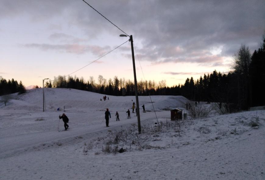 Keravan Keinukallio 14.1.2018. Kuva: KivaaTekemistä.fi