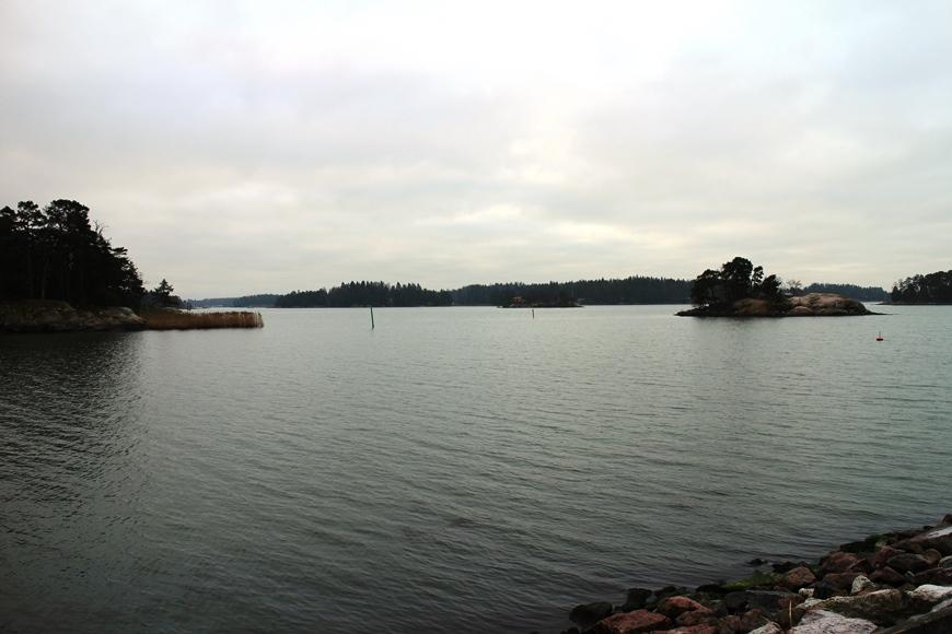 Sipoon rauhoittavia merimaisemia Gumbostrandissa. Kuva: KivaaTekemistä.fi