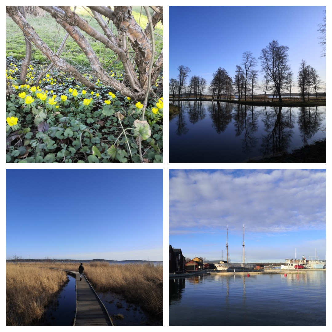 We really enjoyed the views of Nabben and the eastern coast of Mariehamn, incl. Maritime Quarter, when walking back to the town. Photos: LikeFinland.com