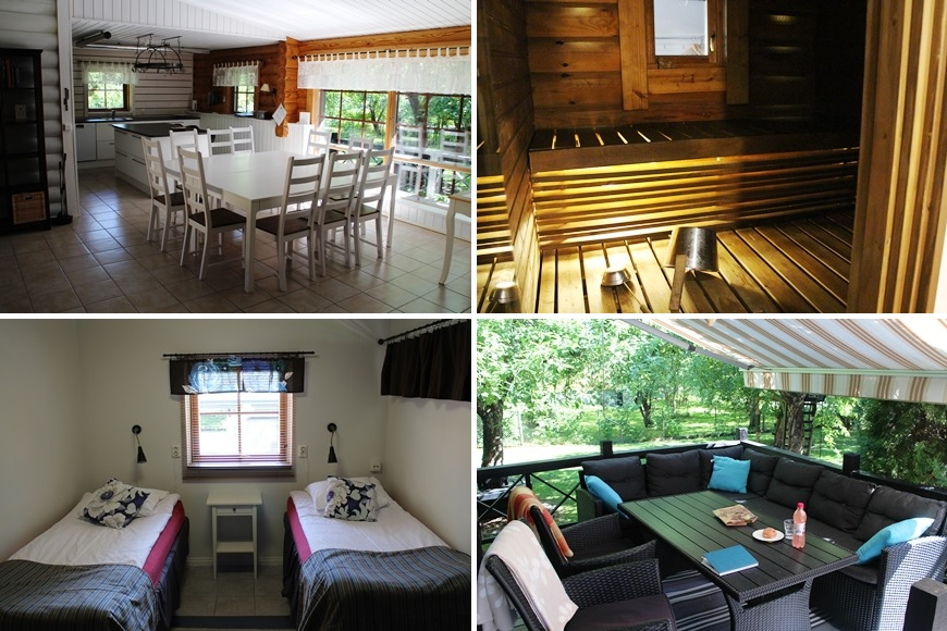 Villa Hulda is a 4-star accommodation for self-catering guests, breakfast on request. Puistokatu 20, Heinola. Photo:LikeFinland.com
