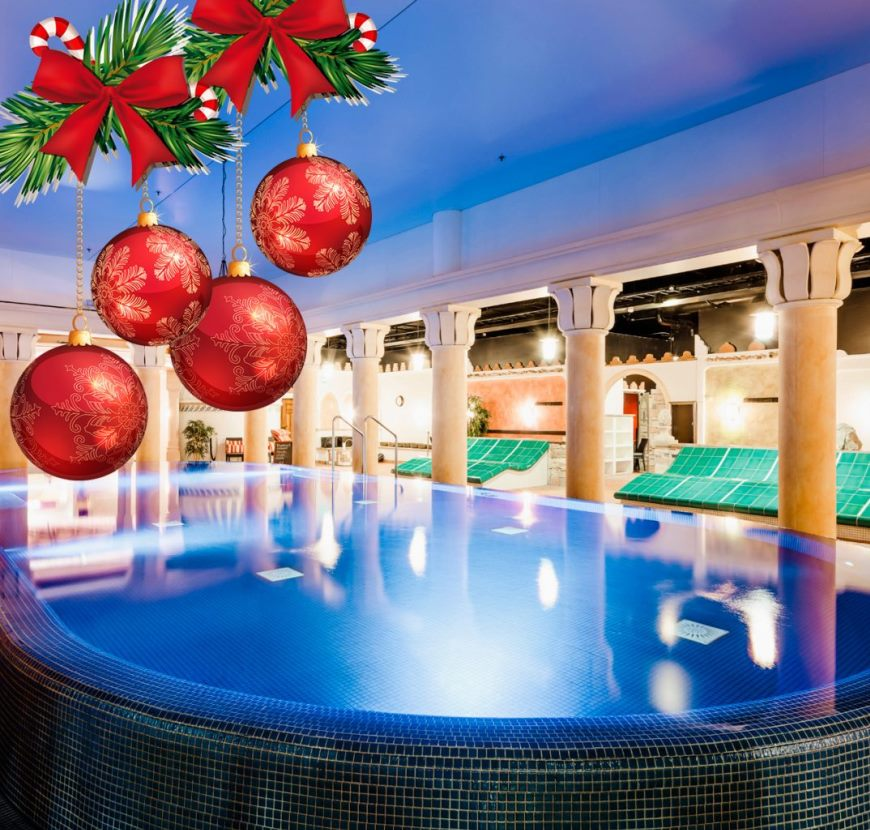 Miniholiday to the warmth? It's always +32 C in Flamingo both inside and outside water. Photo: Flamingo Spa
