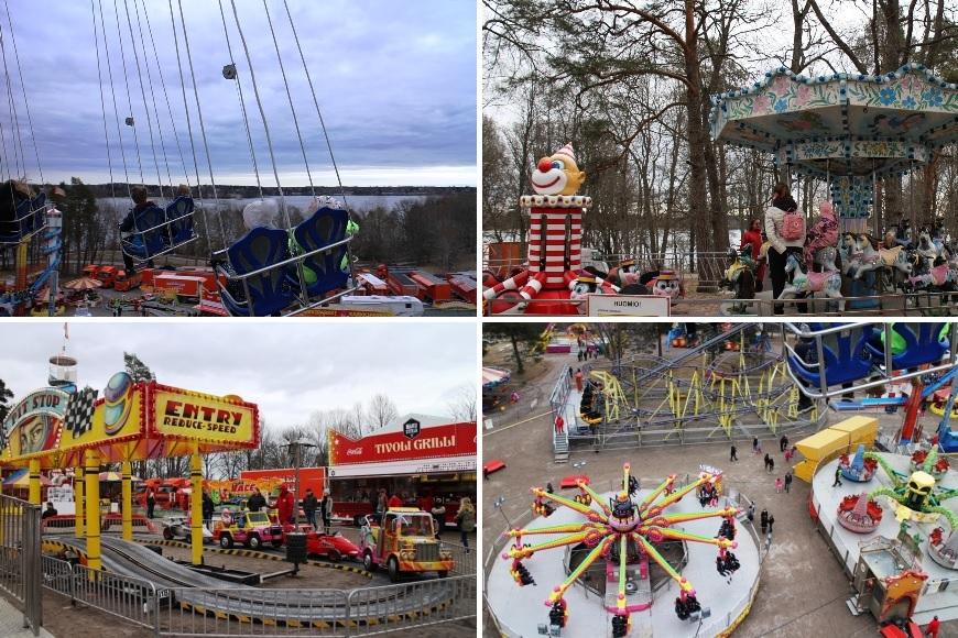 Rides of Suomen Tivoli. Photo: LikeFinland.com