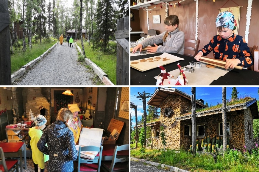 Elves Village including Elves Hideaway, the most secret place in Lapland. Photo: LikeFinland.com