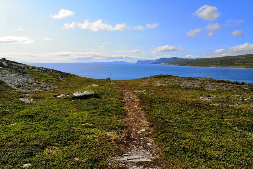You really have your own space in Finnmark, Norway! Repvåg views before Nord Cape. Photo: LikeFinland.com