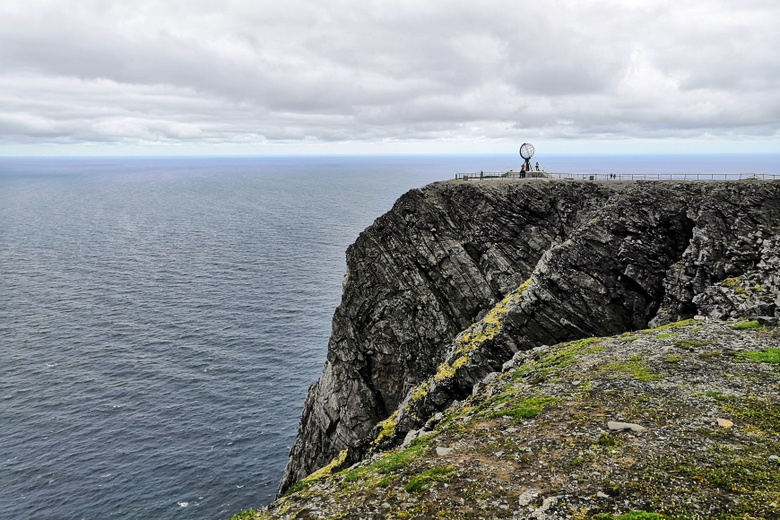 The Nord Cape - the northernmost point in Europe achievable by car. Photo: LIkeFinland.com